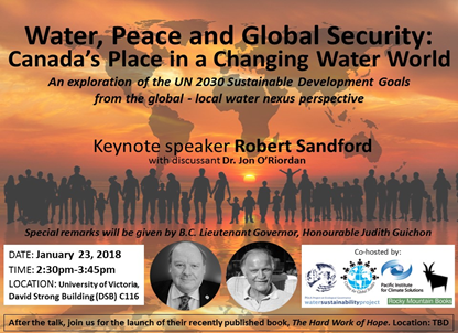 water peace global security
